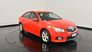 2012 Holden Cruze JH Series II MY13 SRi Red 6 Speed Sports Automatic Sedan.