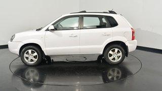 2007 Hyundai Tucson JM MY07 City SX White 4 Speed Sports Automatic Wagon.