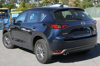 2020 Mazda CX-5 KF4WLA Maxx SKYACTIV-Drive i-ACTIV AWD Sport Deep Crystal Blue 6 Speed.
