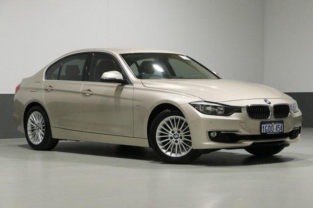 Used BMW 320i F30 MY14 Luxury Line, 2014 BMW 320i F30 MY14 Luxury Line Gold 8 Speed Automatic Sedan