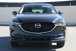 2020 Mazda CX-5 KF4WLA Maxx SKYACTIV-Drive i-ACTIV AWD Sport Deep Crystal Blue 6 Speed