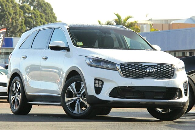 New Kia Sorento UM MY18 GT-Line AWD, 2018 Kia Sorento UM MY18 GT-Line AWD Clear White 8 Speed Sports Automatic Wagon