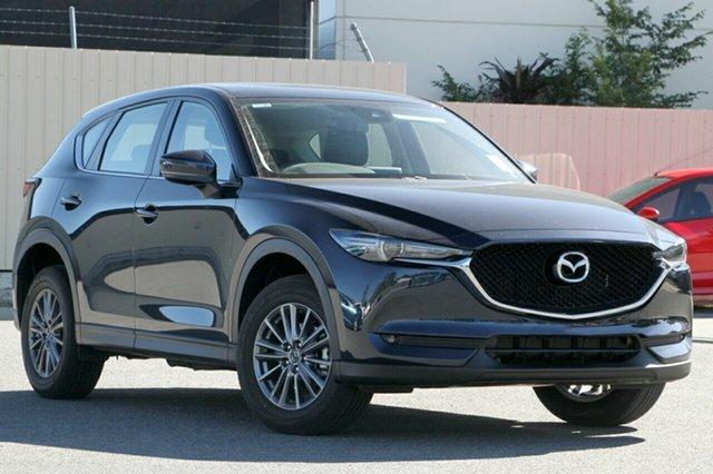 New Mazda CX-5 KF2W7A Maxx SKYACTIV-Drive FWD Sport Hillcrest, 2020 Mazda CX-5 KF2W7A Maxx SKYACTIV-Drive FWD Sport Deep Crystal Blue 6 Speed Sports Automatic