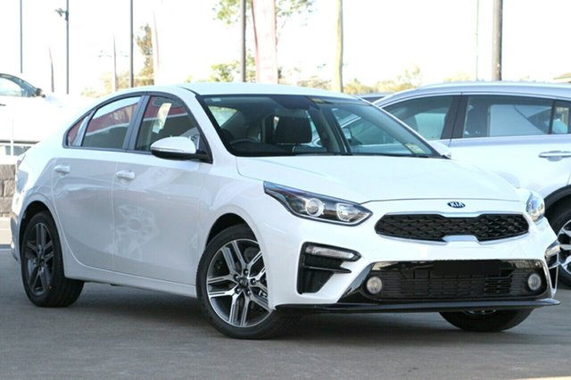New Kia Cerato BD MY19 Sport, 2019 Kia Cerato BD MY19 Sport Snow White Pearl 6 Speed Sports Automatic Sedan