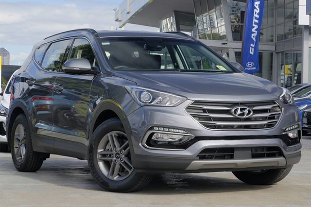 New Hyundai Santa Fe DM5 MY18 Active Albion, 2017 Hyundai Santa Fe DM5 MY18 Active Titanium Silver 6 Speed Sports Automatic Wagon