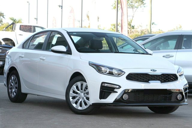 New Kia Cerato BD MY19 S, 2019 Kia Cerato BD MY19 S Clear White 6 Speed Sports Automatic Sedan
