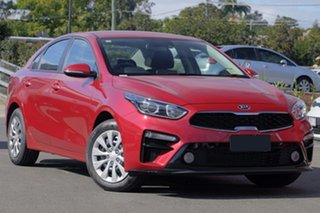2018 Kia Cerato BD MY19 S Runway Red 6 Speed Sports Automatic Sedan.