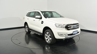 2016 Ford Everest UA Titanium 4WD White 6 Speed Sports Automatic Wagon.