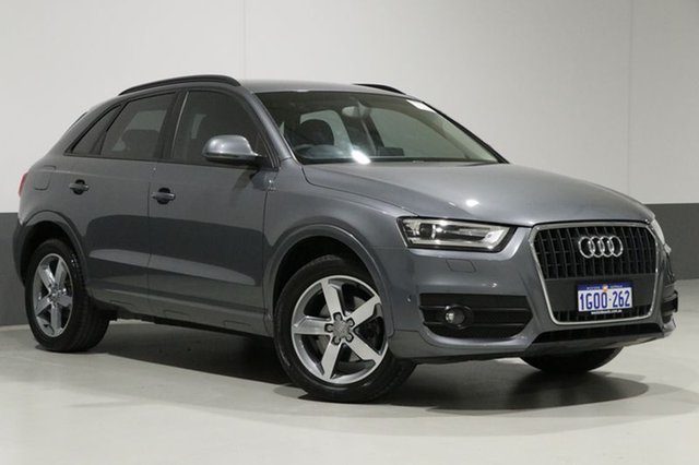 Used Audi Q3 8U MY14 1.4 TFSI (110KW), 2014 Audi Q3 8U MY14 1.4 TFSI (110KW) Grey 6 Speed Automatic Wagon