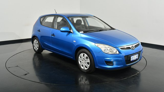 Used Hyundai i30 FD MY09 SX, 2009 Hyundai i30 FD MY09 SX Vivid Blue 5 Speed Manual Hatchback