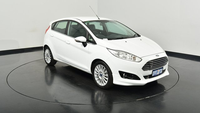 Used Ford Fiesta WZ Sport, 2017 Ford Fiesta WZ Sport Frozen White 5 Speed Manual Hatchback