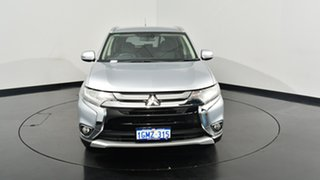 2015 Mitsubishi Outlander ZK MY16 XLS 2WD Silver 6 Speed Constant Variable Wagon.