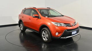 2015 Toyota RAV4 ASA44R MY14 GXL AWD Burnt Orange 6 Speed Sports Automatic Wagon.