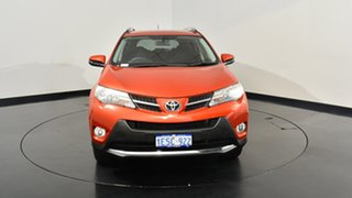 2015 Toyota RAV4 ASA44R MY14 GXL AWD Burnt Orange 6 Speed Sports Automatic Wagon
