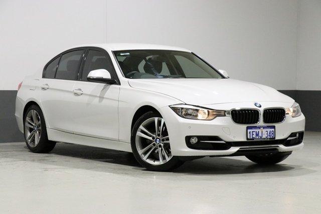 Used BMW 320i F30 MY14 Upgrade Sport Line, 2014 BMW 320i F30 MY14 Upgrade Sport Line Pearl White 8 Speed Automatic Sedan
