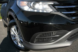 2013 Honda CR-V RM MY14 VTi 4WD Crystal Black 5 Speed Sports Automatic Wagon.