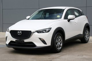 2018 Mazda CX-3 DK2W76 Neo SKYACTIV-MT Snowflake White 6 Speed Manual Wagon.