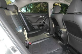 2010 Honda Accord Euro CU MY11 Luxury Buran Silver 5 Speed Automatic Sedan