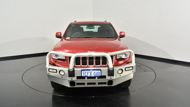 Used Jeep Grand Cherokee WK MY2013 Laredo, 2013 Jeep Grand Cherokee WK MY2013 Laredo Red 5 Speed Sports Automatic Wagon