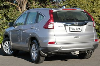 2015 Honda CR-V RM Series II MY16 VTi 4WD Alabaster Silver 5 Speed Sports Automatic Wagon.