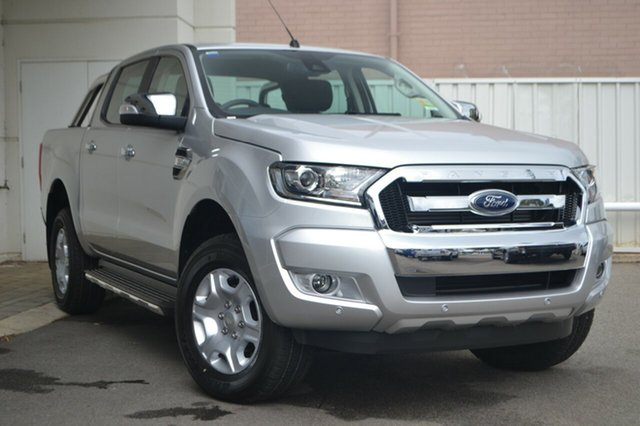 New Ford Ranger PX MkII MY18 XLT Double Cab, 2018 Ford Ranger PX MkII MY18 XLT Double Cab Ingot Silver 6 Speed Sports Automatic Utility