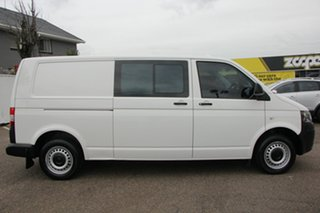 2013 Volkswagen Transporter T5 MY13 TDI340 LWB DSG White 7 Speed Sports Automatic Dual Clutch Van.