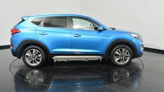 2017 Hyundai Tucson TL2 MY18 Elite D-CT AWD Ara Blue 7 Speed Sports Automatic Dual Clutch Wagon.