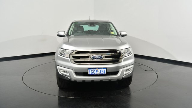 Used Ford Everest UA Trend 4WD, 2017 Ford Everest UA Trend 4WD Aluminium 6 Speed Sports Automatic Wagon