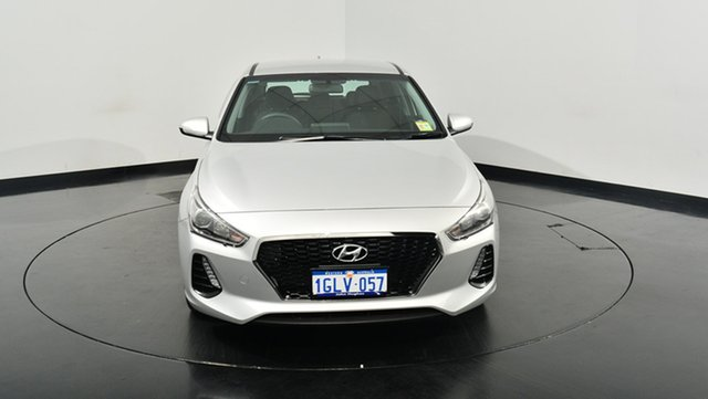 Used Hyundai i30 PD MY18 Active D-CT, 2017 Hyundai i30 PD MY18 Active D-CT Platinum Silver Metallic 7 Speed Sports Automatic Dual Clutch
