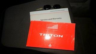 2013 Mitsubishi Triton MN MY13 GLX White 5 Speed Manual Cab Chassis