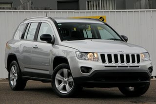 2013 Jeep Compass MK MY14 Sport Silver 6 Speed Sports Automatic Wagon.
