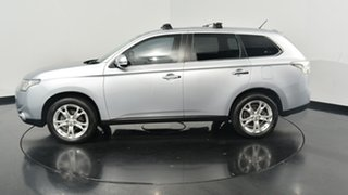 2013 Mitsubishi Outlander ZJ MY14 Aspire 4WD Silver 6 Speed Constant Variable Wagon.