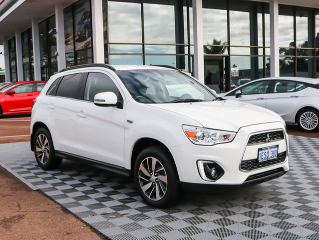 Used Mitsubishi ASX XB MY15 LS 2WD, 2015 Mitsubishi ASX XB MY15 LS 2WD White 6 Speed Constant Variable Wagon