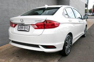 2018 Honda City GM MY19 VTi-L White Orchid 7 Speed Constant Variable Sedan.