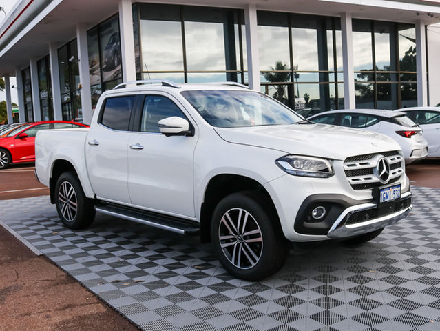 Used Mercedes-Benz X-Class 470 X250d 4MATIC Power, 2018 Mercedes-Benz X-Class 470 X250d 4MATIC Power White 7 Speed Automatic Utility