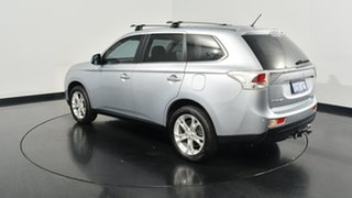 2013 Mitsubishi Outlander ZJ MY14 Aspire 4WD Silver 6 Speed Constant Variable Wagon