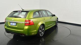 2016 Holden Commodore VF II MY16 SV6 Sportwagon Black Green 6 Speed Sports Automatic Wagon