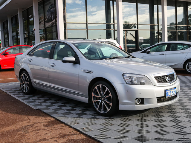 Used Holden Caprice WN II MY16 V, 2016 Holden Caprice WN II MY16 V Silver 6 Speed Sports Automatic Sedan