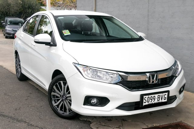 Demo Honda City GM MY19 VTi-L, 2018 Honda City GM MY19 VTi-L White Orchid 7 Speed Constant Variable Sedan