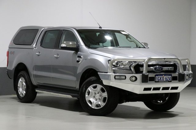 Used Ford Ranger PX MkII XLT 3.2 (4x4), 2015 Ford Ranger PX MkII XLT 3.2 (4x4) Graphite 6 Speed Automatic Dual Cab Utility