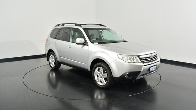 Used Subaru Forester S3 MY10 XS AWD, 2010 Subaru Forester S3 MY10 XS AWD Silver 4 Speed Sports Automatic Wagon