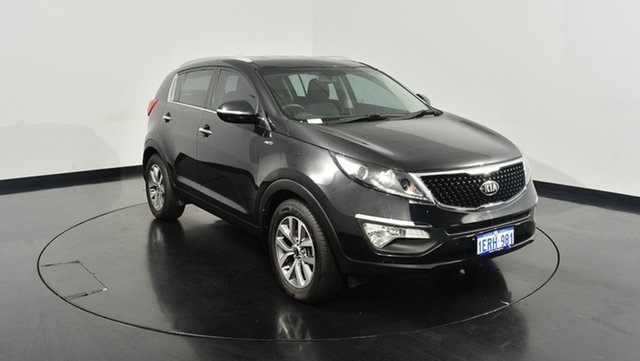 Used Kia Sportage SL Series II MY13 SLi, 2014 Kia Sportage SL Series II MY13 SLi Black 6 Speed Sports Automatic Wagon