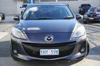 2012 Mazda 3 BL10L2 SP25 Grey 6 Speed Manual Hatchback.