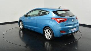 2013 Hyundai i30 GD SE Coupe Blue 6 Speed Sports Automatic Hatchback.