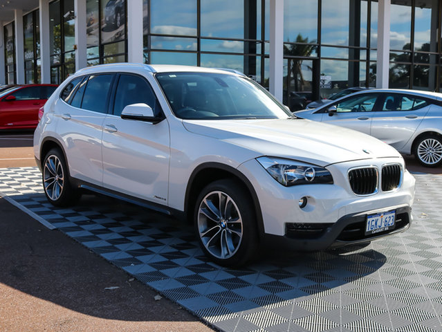 Used BMW X1 E84 LCI MY1113 xDrive28i Steptronic AWD, 2014 BMW X1 E84 LCI MY1113 xDrive28i Steptronic AWD White 8 Speed Sports Automatic Wagon