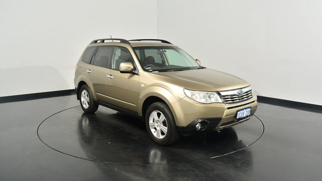 Used Subaru Forester 79V MY08 XS AWD, 2008 Subaru Forester 79V MY08 XS AWD Gold 5 Speed Manual Wagon