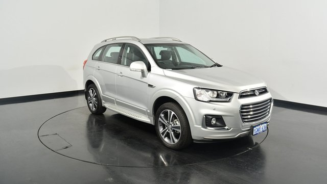 Used Holden Captiva CG MY16 LTZ AWD, 2016 Holden Captiva CG MY16 LTZ AWD Silver 6 Speed Sports Automatic Wagon