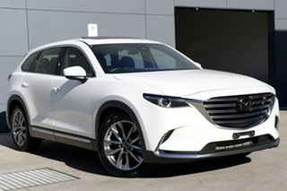 2017 Mazda CX-9 TC Azami SKYACTIV-Drive i-ACTIV AWD White Pearl 6 Speed Sports Automatic Wagon.