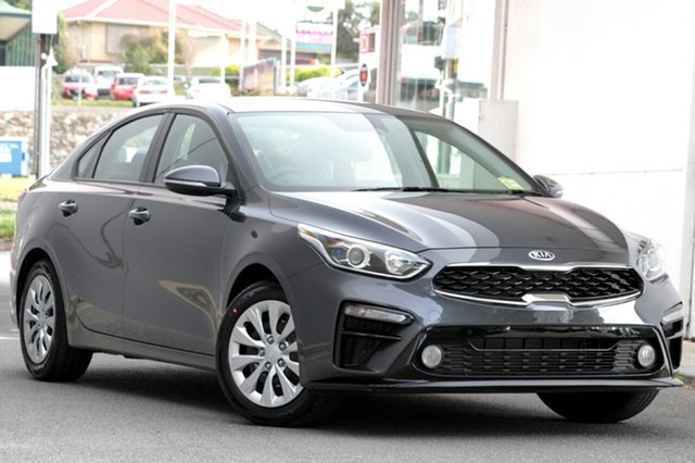 New Kia Cerato BD MY19 S, 2018 Kia Cerato BD MY19 S Steel Grey 6 Speed Sports Automatic Sedan