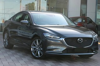 2021 Mazda 6 GL1033 GT SP SKYACTIV-Drive Polymetal Grey 6 Speed Sports Automatic Sedan.